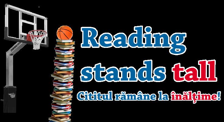 """Un proiect prin care să aibă un impact în comunitate, promovând baschetul, clubul şi educaţia, intitulat """"Reading stands tall – Cititul rămâne la înălțime!"""", este lansat de Steaua CSM EximBank"""