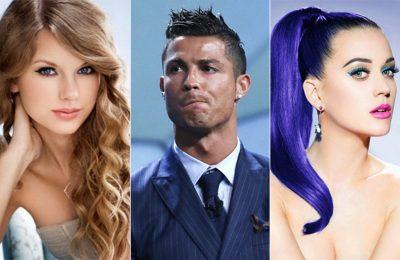 """Ronaldo împarte cu Taylor Swift """"Balonul de Aur"""" social media """"followers"""""""