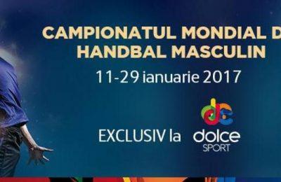 Programul complet al Campionatului Mondial de handbal, transmis de Dolce Sport