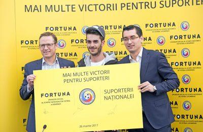 Fortuna devine sponsor al Echipei Naționale de Fotbal a României