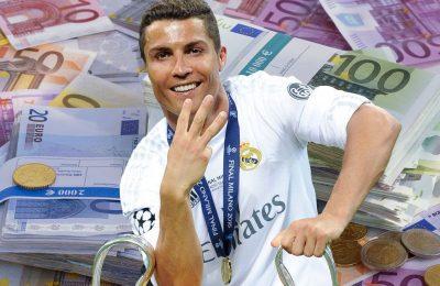 Ronaldo, cel mai bine plătit sportiv din lume - Forbes