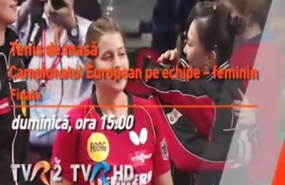 Tricolorele luptă pentru titlu în finala CE de tenis de masă