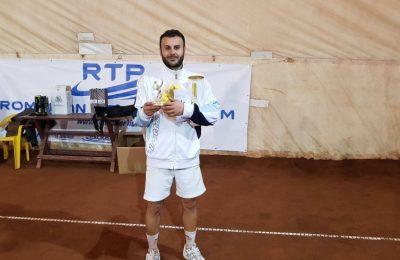 Mihnea Susanu a cucerit turneul Sport Profit Open Tenis