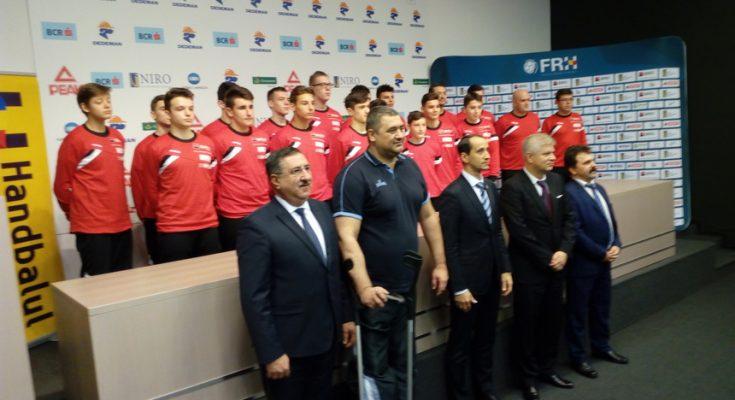 Primul Centru Naţional Olimpic din România dedicat handbaliştilor juniori a fost lansat la Bucureşti