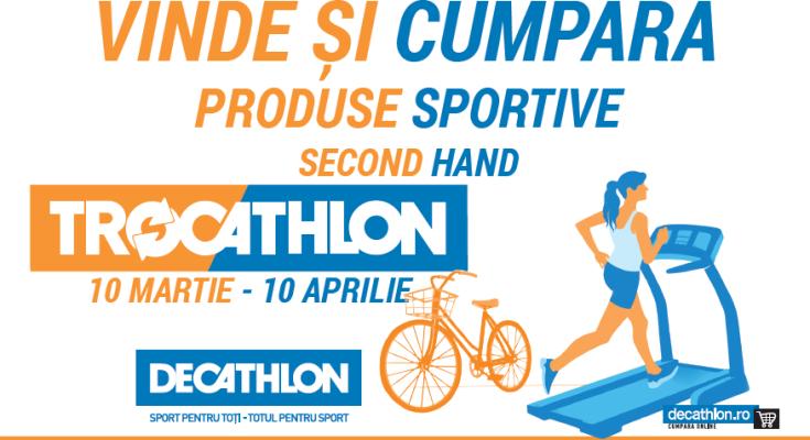 Decathlon lansează ediția de primavara Trocathlon