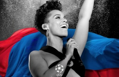 Pepsi UEFA Champions Legue Alicia Keys