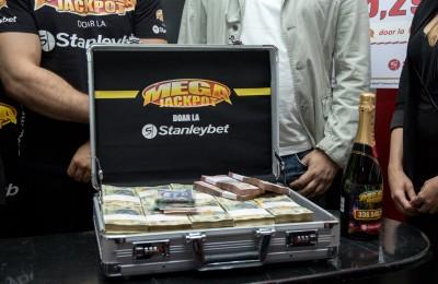 Stanleybet câștig Megajackpot 125.000 euro