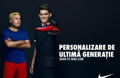 Gheorghe Hagi, din nou blond! Acum, alături de fiul său Ianis, Nike
