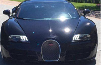 Cristiano Ronaldo cadou Bugatti Veyron