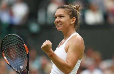 Simona Halep, numărul trei WTA, a fost desemnată câștigătoare în ancheta pentru cea mai frumoasă lovitură a lunii iulie în circuitul feminin.
