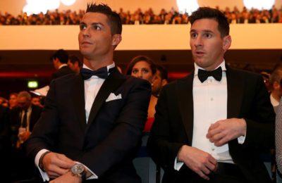 Forbes, Ronaldo și Messi,