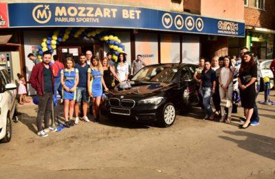 Cu Mozzart, visul tanar parior din vestul tarii a devenit realitate, se precizează pe site-ul casei de pariuri
