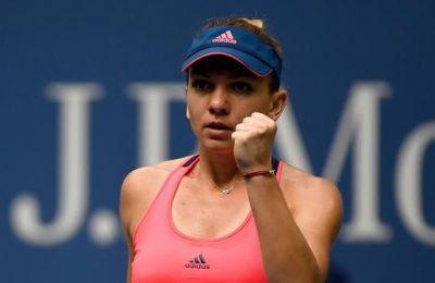 Simona Halep joacă pentru calificarea în turul patru la US Open cu Timea Babos, live pe Eurosport 2