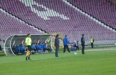 Peisajul din Liga 1 este tot mai sărac în tribune, mergând din ce în ce mai puțini spectatori să asiste la meciuri