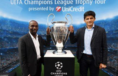 Bucureștenii întâmpină în weekend trofeul UEFA Champions League, prezentat de UniCredit