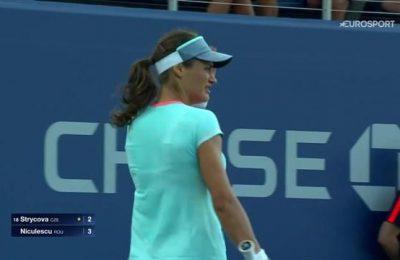 Pe Eurosport 1 și 2, fanii români o vor putea urmări pe Monica Niculescu, una dintre cele două reprezentante ale noastre în competiția fetelor la US Open