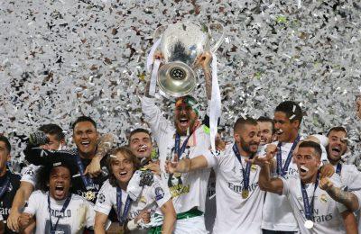 Real Madrid se află pe primul loc în topul cluburilor de fotbal cu cele mai mari venituri, cu încasări de 620 de milioane de euro pe anul 2015-2016