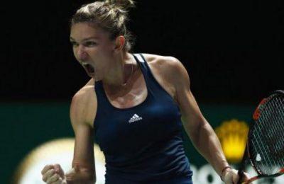 Simona Halep poate fi votată pentru cea pentru cea mai frumoasă lovitură de la Turneul Campioanelor