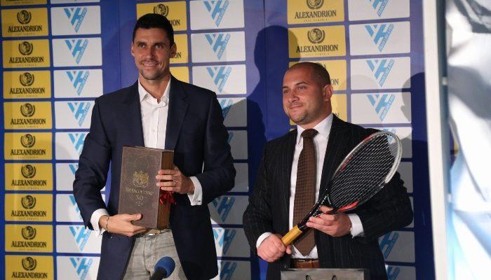 """Alexandrion Grup Romania și Fundația Alexandrion au semnat un parteneriat cu Asociatia Tenis Club """"Victor Hanescu"""", în care au oferit burse pentru jucătorii ce participă la taberele """"Train Like a Pro"""""""