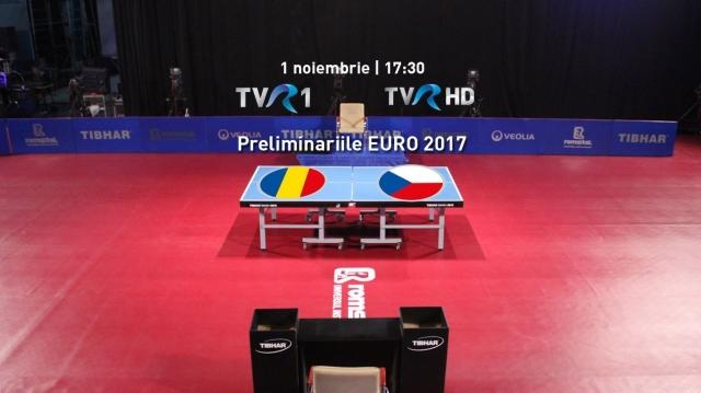 Marţi, 1 noiembrie, de la 17.30, naţionala de seniori a României întâlneşte reprezentativa Cehiei în primul meci acasă pentru calificarea la EURO 2017