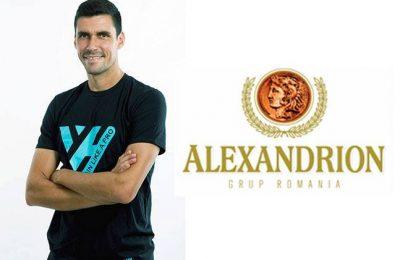 """Alexandrion Grup sprijină taberele """"Train Like a Pro"""" organizate de Victor Hănescu"""