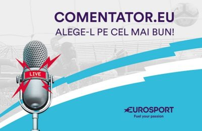 """Eurosport anunță finaliștii campaniei """"Eu, comentator"""""""