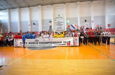 Delegația tricoloră, calificată până acum în șase finale la CM de fotbal tenis din Cipru. Un român, președinte și antrenor al Spaniei