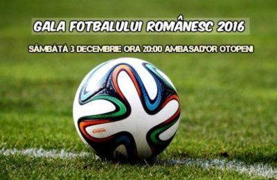 Gala Fotbalului Românesc 2016. Lista nominalizaților