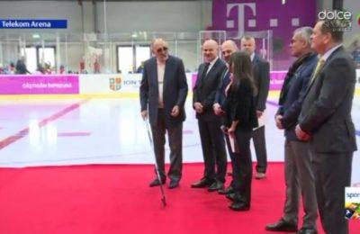 A fost inaugurat patinoarul din cadrul Telekom Arena