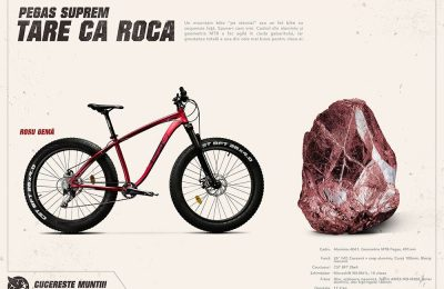Pegas Suprem: caracteristicile MTB și Fat Bike se întâlnesc într-o bicicletă de vârf