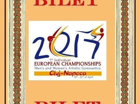 Prețuri între 150 şi 280 lei la abonamente pentru CE de gimnastică de la Cluj