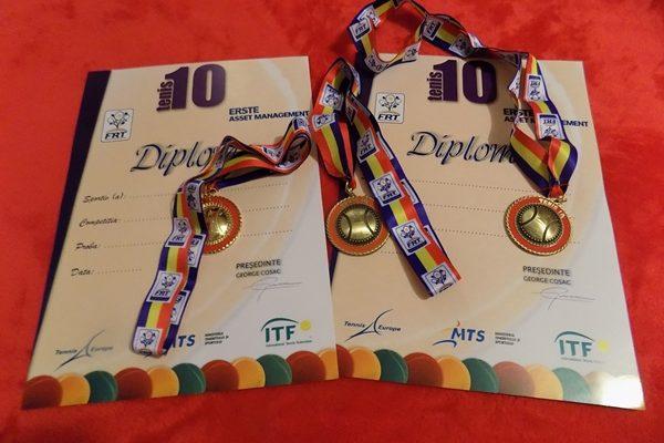 Câștigătorii Cupei Curtea de Argeș din cadrul Circuitului Tenis 10 - FR Tenis