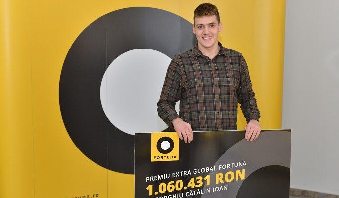 Fortuna vă prezintă povestea celui mai mare câştig obţinut la o casă de pariuri din România