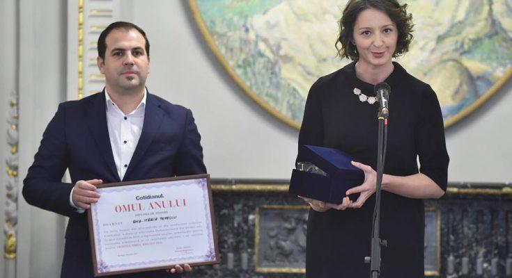 """Echipa feminină de spadă, premiată de Alexandrion Grup în cadrul Galei """"Omul Anului"""""""