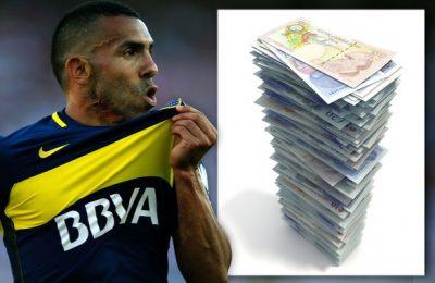 Tevez, cel mai bine plătit jucător al lumii, pe cale să plece din campionatul Chinei