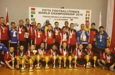 Campionii mondiali vor fi premiați la Gala Fotbalului Tenis de la Bușteni
