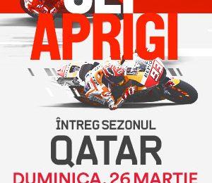 Cursele de MotoGP demarează în acest week-end la Eurosport