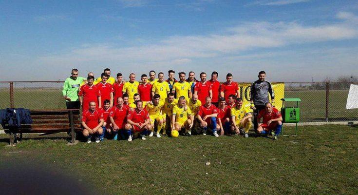 Meci demonstrativ al campionilor olimpici ai presei cu Viitorul Butești