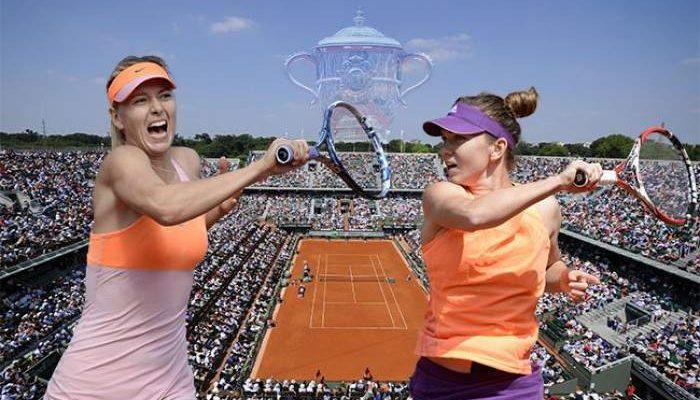 Simona Halep ar putea juca împotriva Mariei Şarapova la Tie Break Tens
