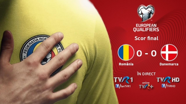 România-Danemarca, cel mai vizionat meci din preliminariile CM FIFA Rusia 2018