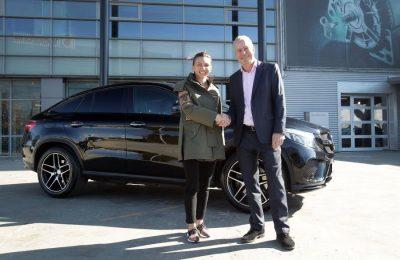 Simona Halep, ambasador Mercedes-Benz