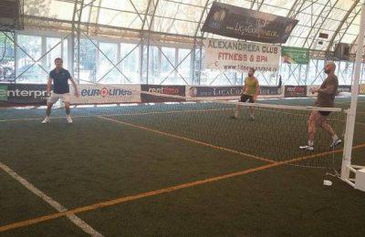 Vedete la Cupa de fotbal tenis Alexandreea Club Fitness @ Spa