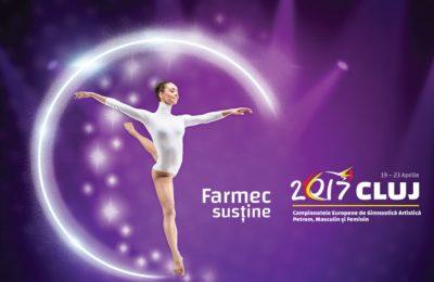 Farmec devine partener oficial al Campionatelor Europene de Gimnastică Artistică Petrom
