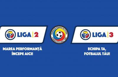 FRF a lansat noile branduri Liga 2 și Liga 3 FRF a lansat noile branduri Liga 2 și Liga 3