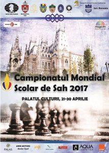 România a cucerit o medalie de aur, una de argint și patru de bronz la Campionatul Mondial școlar de șah de la Iași