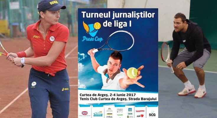 Duel inedit între Ana Maria Brânză Popescu și Peter Pop la Press Cup Dr. Oetker