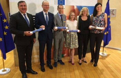 Mihai Covaliu, George Boroi, Narcisa Lecusanu si Gabriela Szabo, ambasadori #BeActive