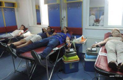 FRR continua seria actiunilor de donare de sange
