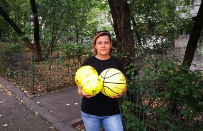 """Ștefania Băbău este câștigătoarea celei de a zecea ediții a Concursului """"Câștigă mingi cu Alexandrion Grup și Fundația Alexandrion"""""""
