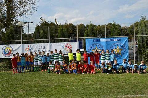 Cupa Stelelor Grassroots a fost organizată de Asociația Stelele Viitorului București